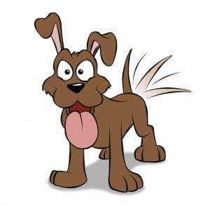 Hund Zeichentrick